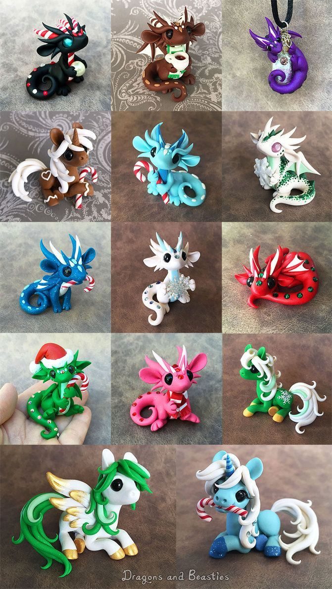 I'd have liked more time for Christmas sculpting but we're in the process of arranging a move out of state. Been a bit busy! I did get some done though. All are now sold except for the 6 below that...