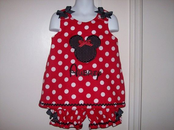 Boutique Red Polka Dot Minnie Mouse Applique and by thesewprincess, $49.99Polka Dots, Boutiques Red, Mouse Appliques, Minnie Mouse, Red Polka, Dots Minnie