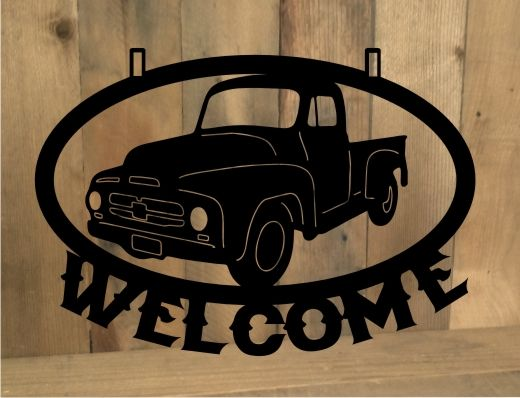 Car Old Garage Signs : Images about metal cut out signs on pinterest