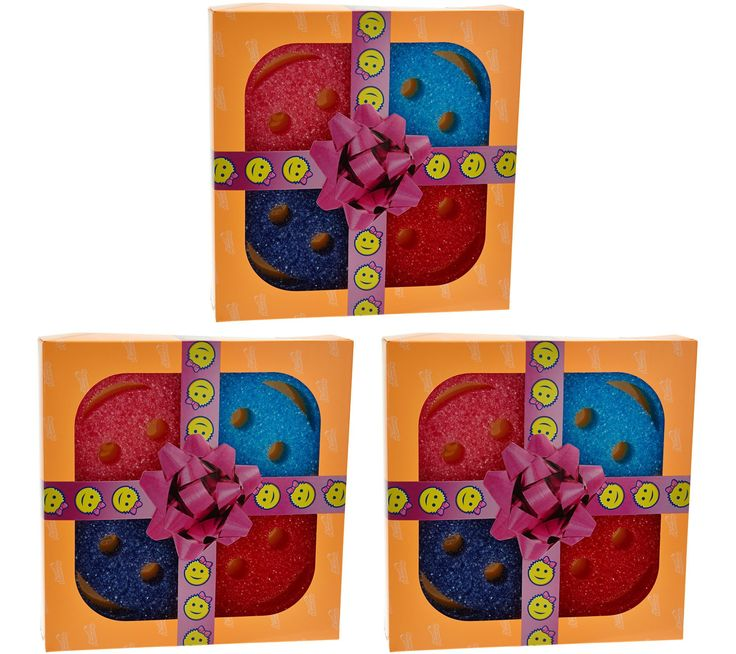 Scrub Mommy Set of (3) Multi-color 4-piece Sponge Gift Packs - Page 1 — QVC.com