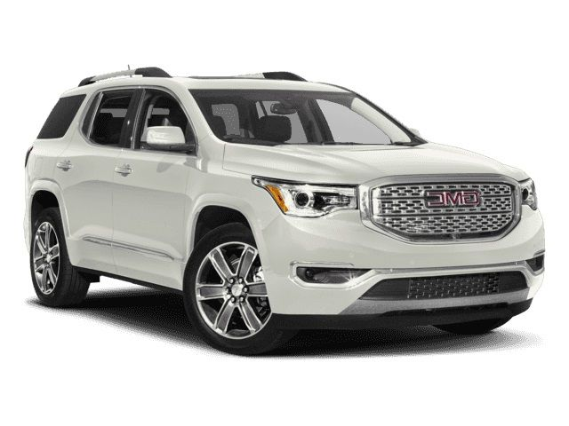 2018 Gmc Acadia Denali White Acadia Denali Gmc Vehicles