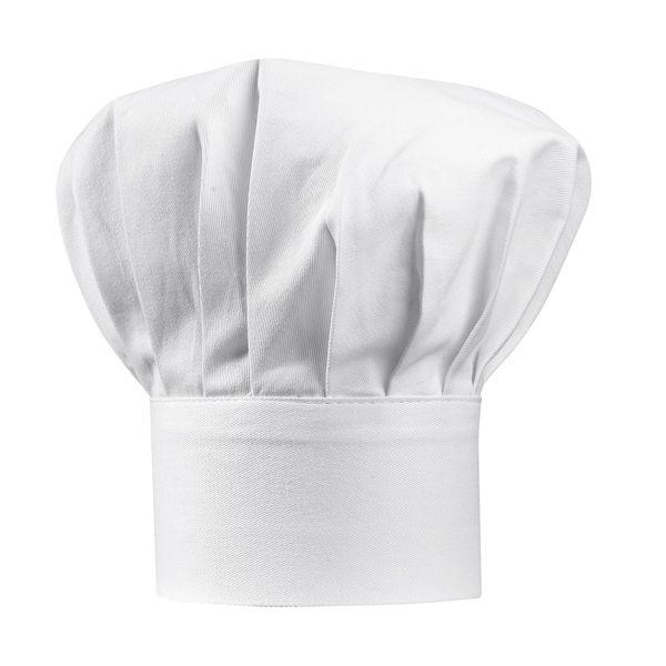 Tabliers et torchons : Toque enfant blanche Grand Chef