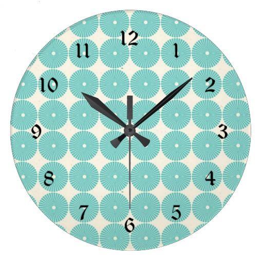 Reloj aguamarina #zazzleespaña #verano #regalospersonalizables #decoración