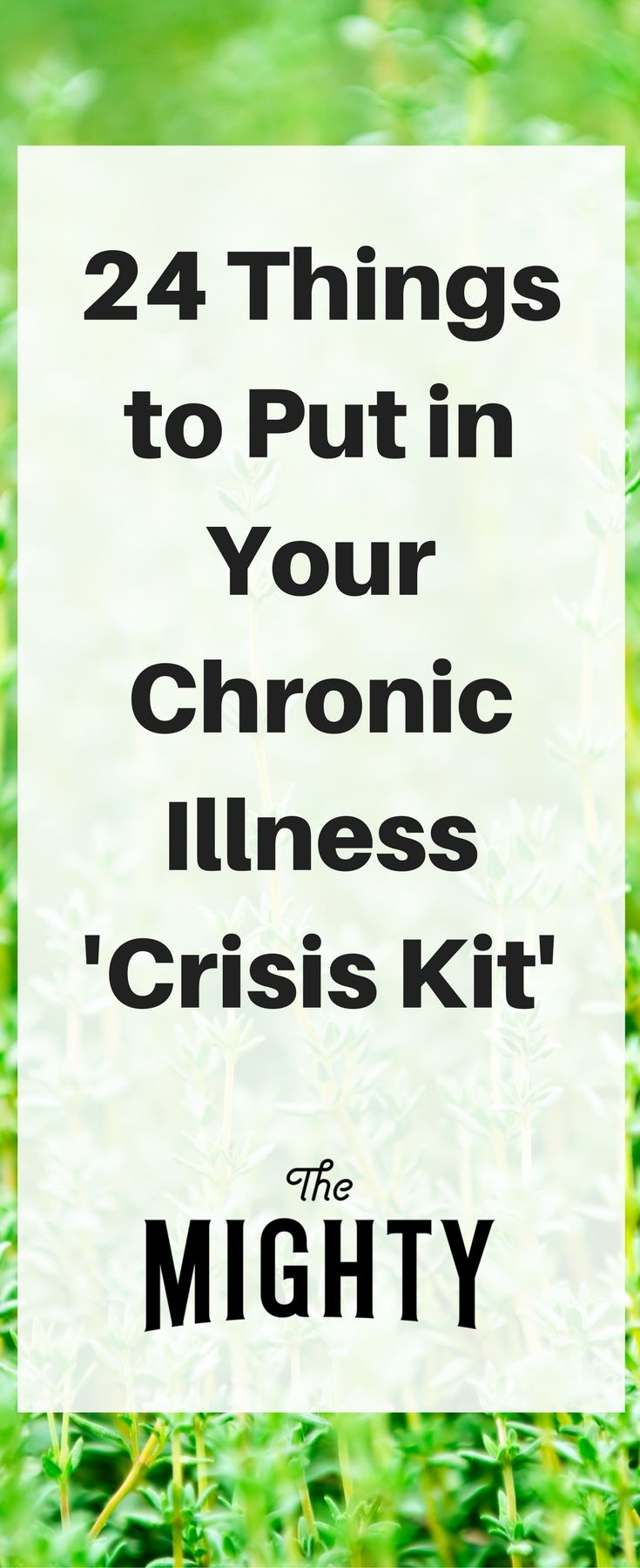 What to Keep in Your Chronic Illness 'Crisis Kit' for Emergencies | The Mighty