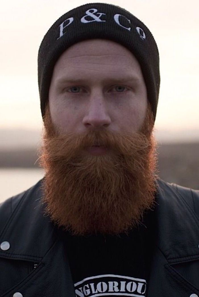 barbe homme hispter longue de bonne taille - Coloration Barbe Grande Surface