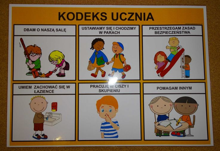 KODEKS UCZNIA - PLANSZA