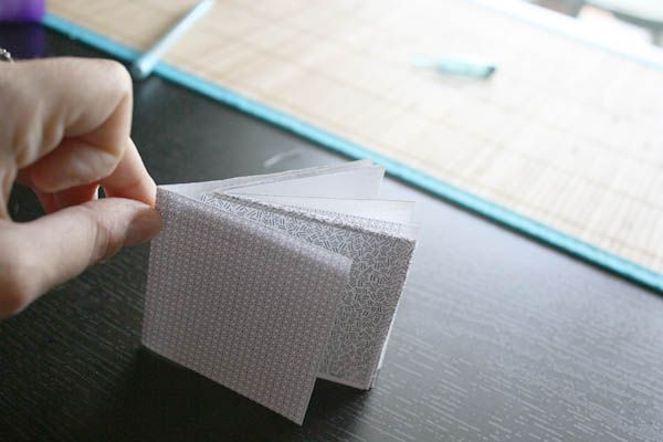 how to make a notebook out of the inside envelope from junk mail and bills