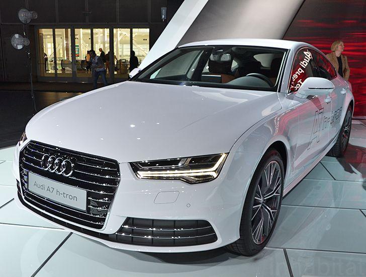 Audi Unveils A7 Sportback H-Tron Quattro Hydrogen Car at the Los Angeles Auto Show