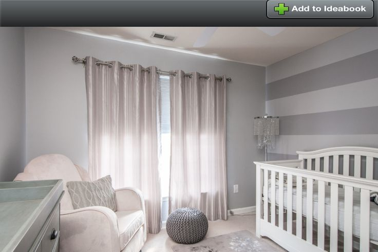 Gray And White Baby Room Dylan Room Pinterest Grey
