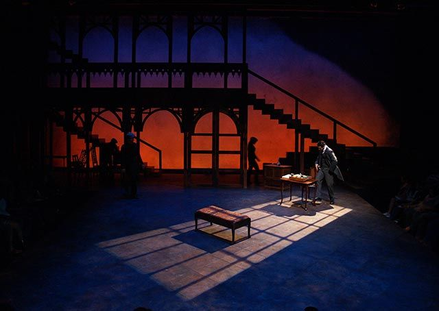 The University of Texas at Austin Oscar Brockett Theatre- My love….