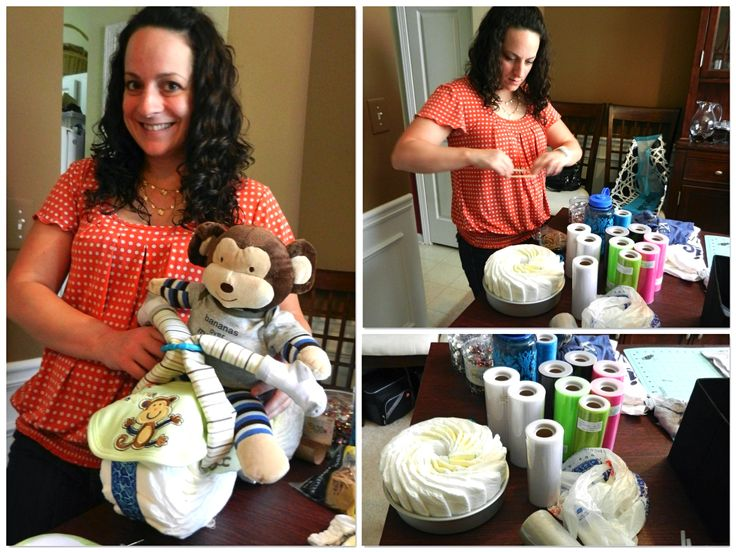 Pinterest Party - motorcycle diaper cake