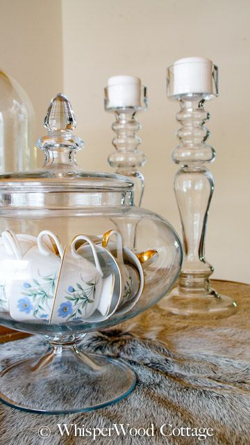 WhisperWood Cottage: Organize & Display China in a Unique Way!