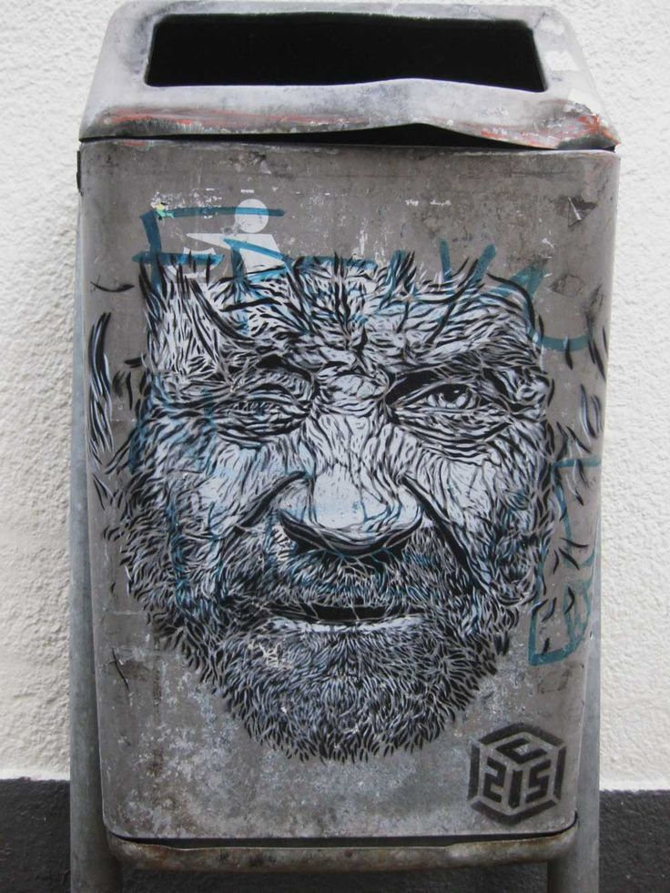 ღღ Street Art By C215 - Maastricht (Netherlands) - Street-art and Graffiti   FatCap