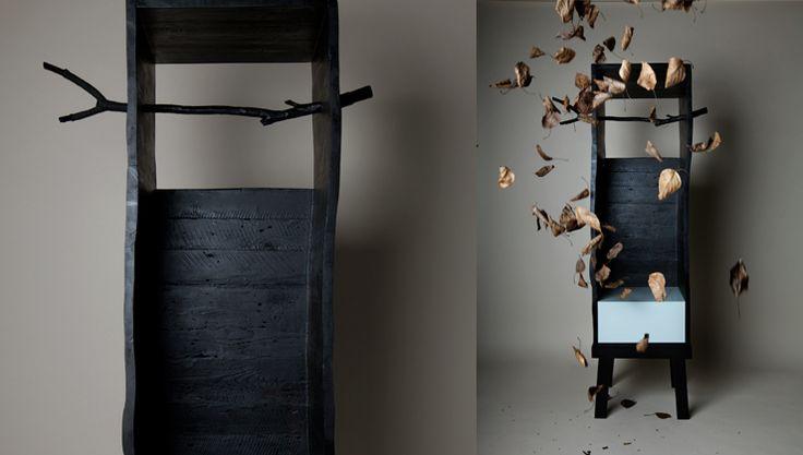 Studio Ziben, corky black cabinet