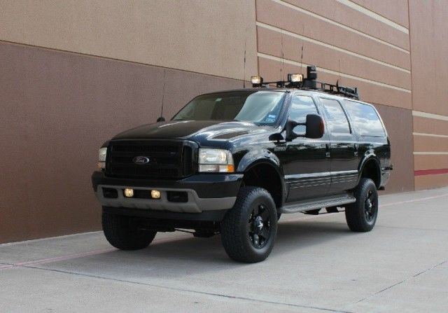 2002 Ford Excursion 7.3L Limited 4WD Diesel 4x4 Powerstroke CUSTOM ...