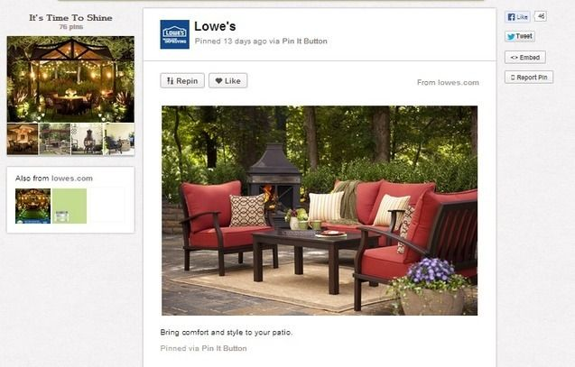 Social Media Marketing Case Study: Pinterest and Lowes