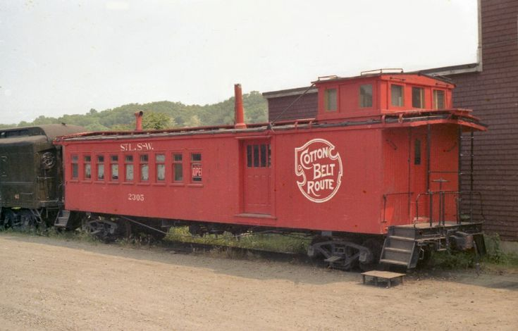 Cotton Belt called it a long caboose or a nine window caboose. This type of car was used for local passenger service on mixed trains. SSW 2305 served on the PSE branch of the Cotton Belt through the 1950's.