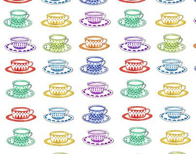 "Vera Lazzarini_ Tea time+  Check out new work on my @Behance portfolio: ""tea time+"" http://be.net/gallery/59320091/tea-time"