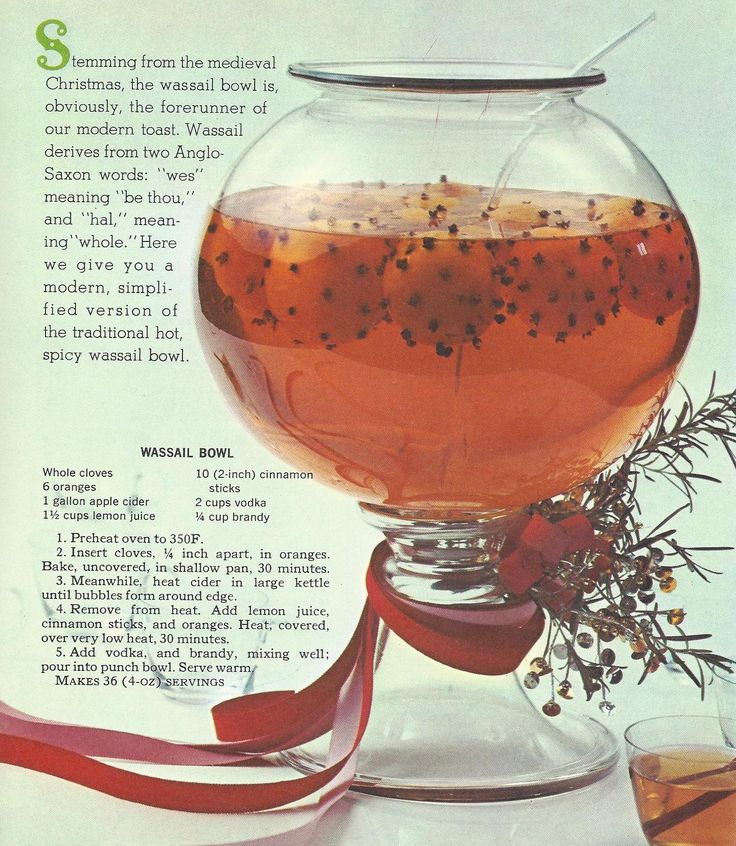 Vintage Christmas Recipes: Breads, Cakes, Pies, Puddings, Candies, Beverages from 1965
