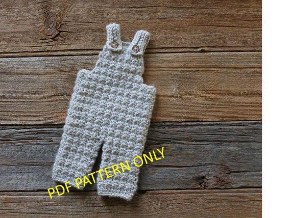 Ollie Overalls PDF Crochet Pattern by ThatGirlsPatterns on Etsy