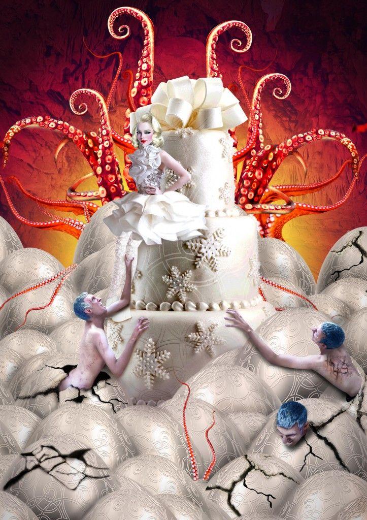 Octo Queen  #photoshop #digitalart #art #octopus #queen #fantasy