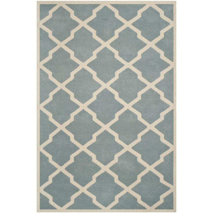Safavieh Handmade Moroccan Chatham Trellis Pattern Blue