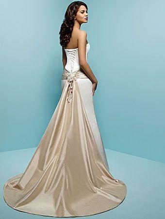 Robe de mariée de nouveauté avec traîne