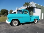 55 Chevy Pickup. Description: 1955 Chevrolet 3,100 Pickup, V8, auto, wood bed, very original and clean! $12,900 This is a customer's car please call Sean @ (239)939-0377