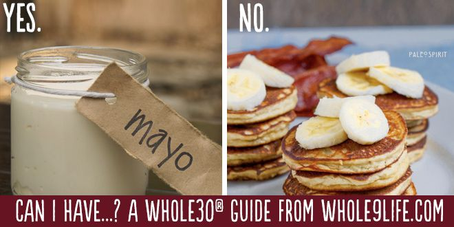 Yes/no on Whole30