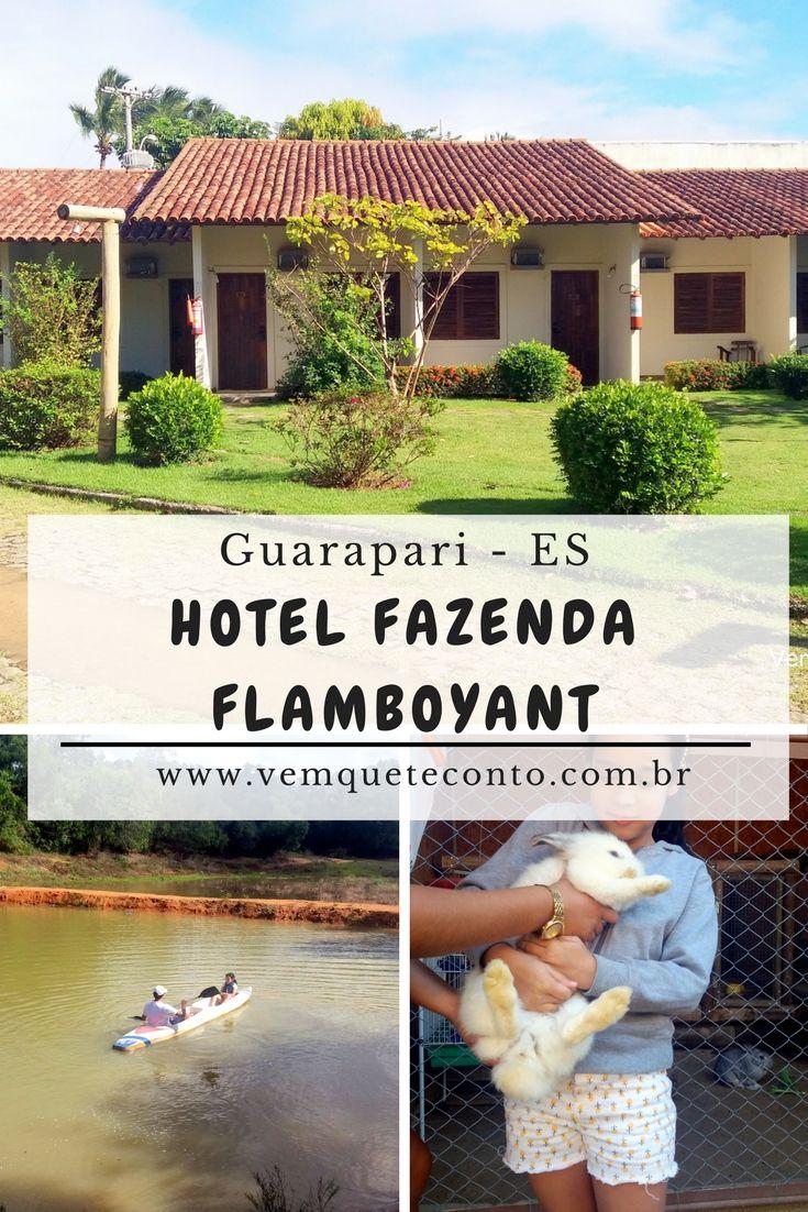 Hotel Fazenda Flamboyant - Guarapari - ES Ótimo Hotel Fazenda, com excelente estrutura e muita recreação para crianças e adultos. Excelente pedida para os descansos em família.