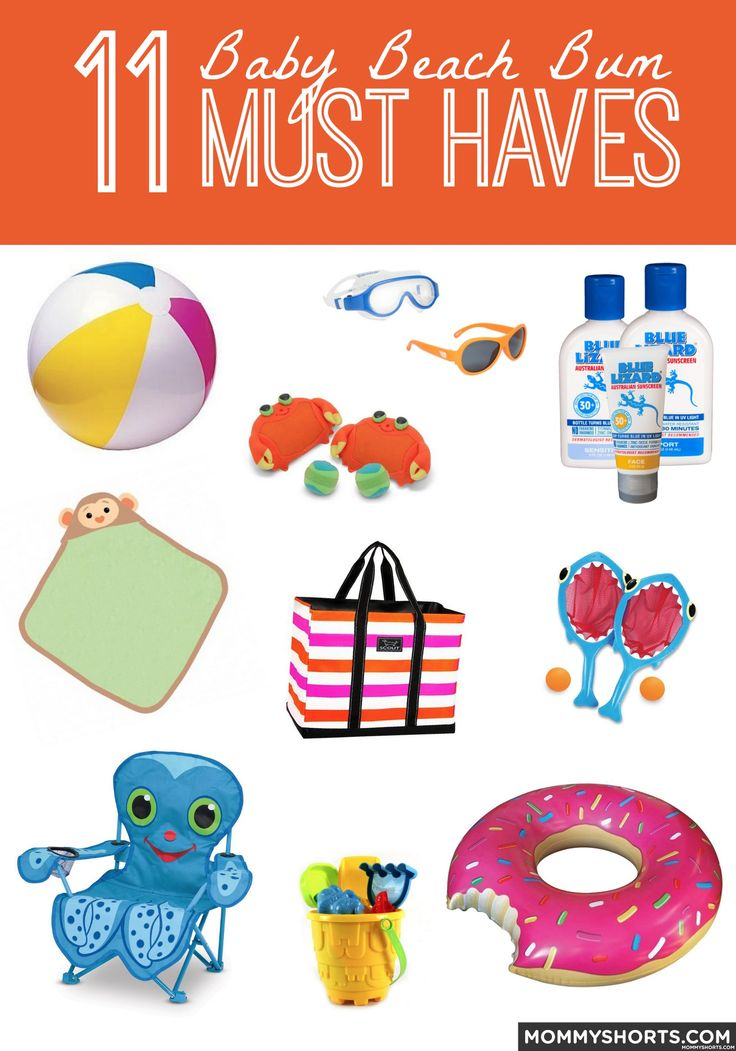 11 Baby Beach Bum Must Haves from Mommy Shorts and Blue Lizard Sun