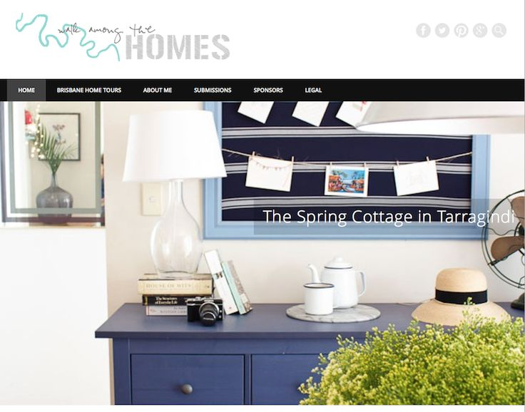 Walk among the homes Bloglovin - nooks & cranny