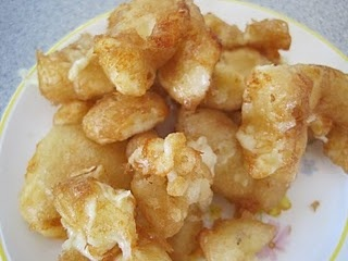 Deep Fried Wisconsin Cheese Curds.