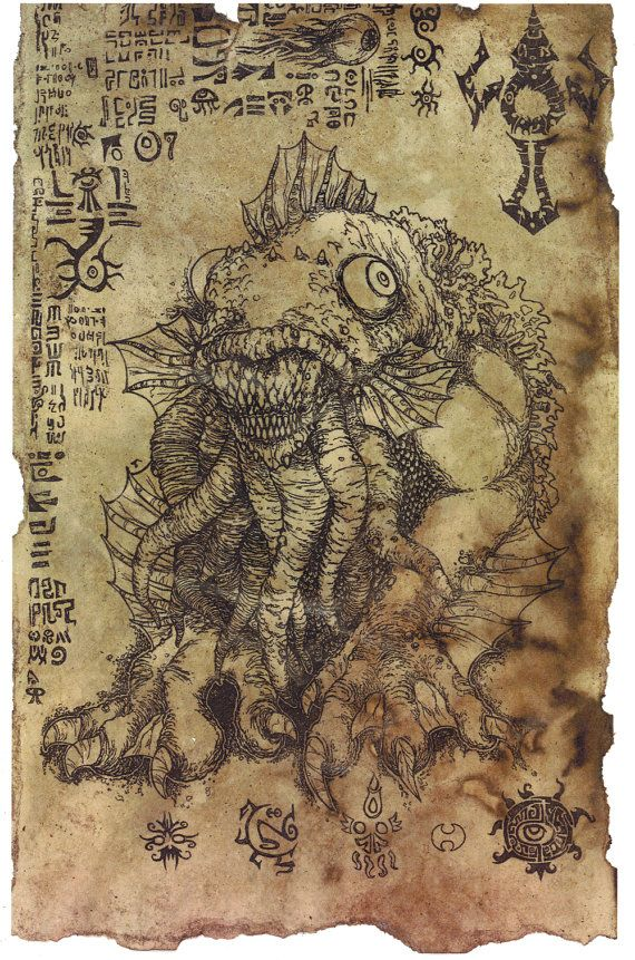 The Litany of Dagon scroll