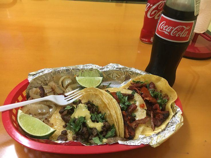 [I Ate] Tacos de trompo and de bistec!
