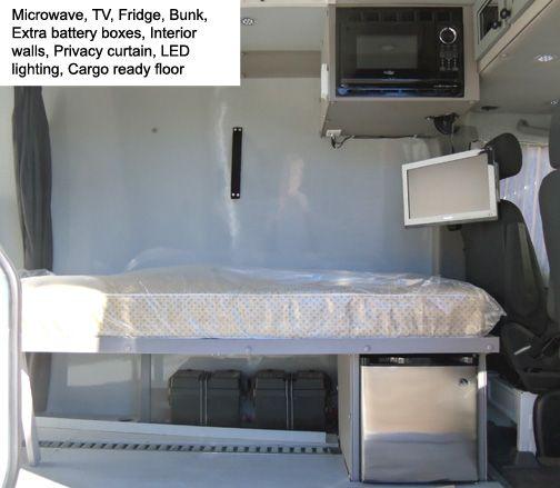 Sprinter Van Sleeper Conversions | Expediter Sleeper ...