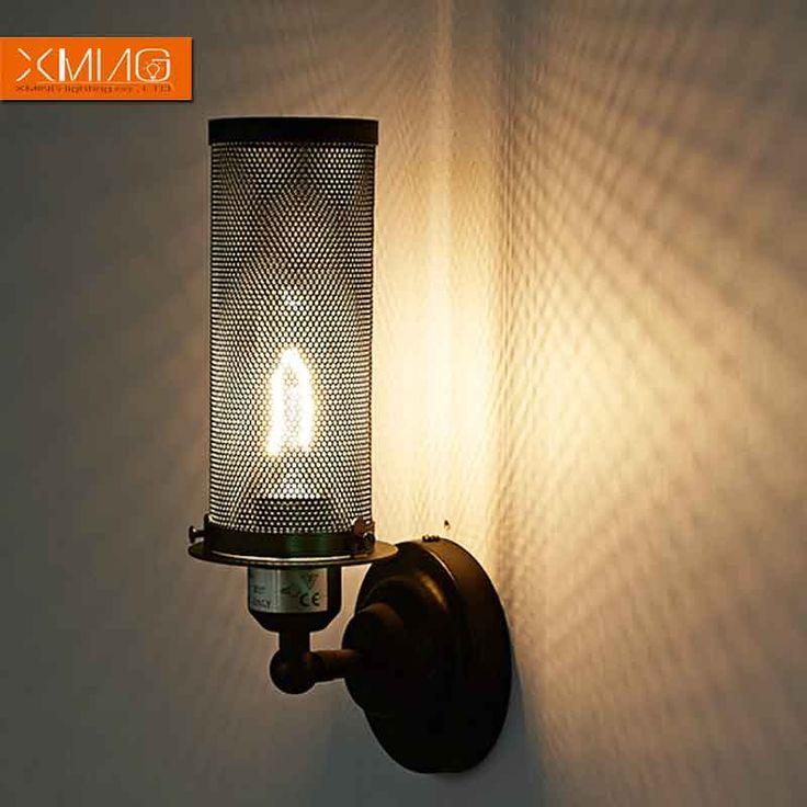 Pas cher vintage lampe murale r tro rustique appliques - Applique murale rustique ...