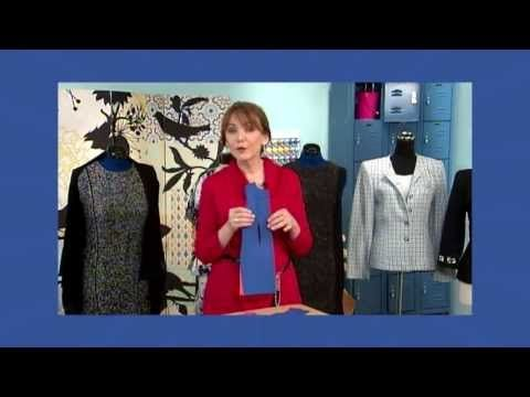 ▶ 601-2 Fit expert Peggy Sagers demonstrates the classic sheath dress on It's Sew Easy - YouTube