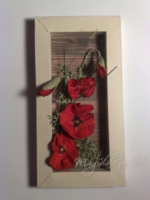 Hand made poppy