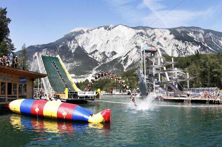Wasserschanze im Ötztal - Area 47 Tyrol, Austria