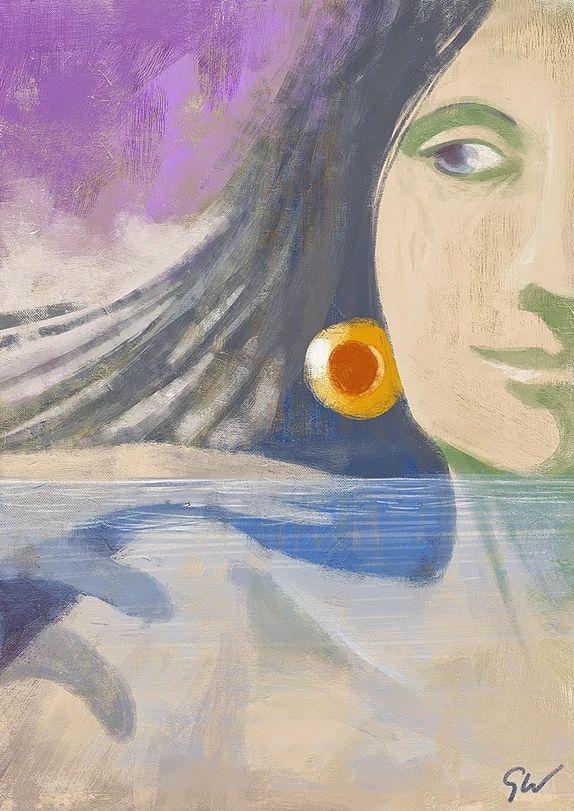 giampiero wallnofer,colours,landscapes,illustrazioni,paesaggi