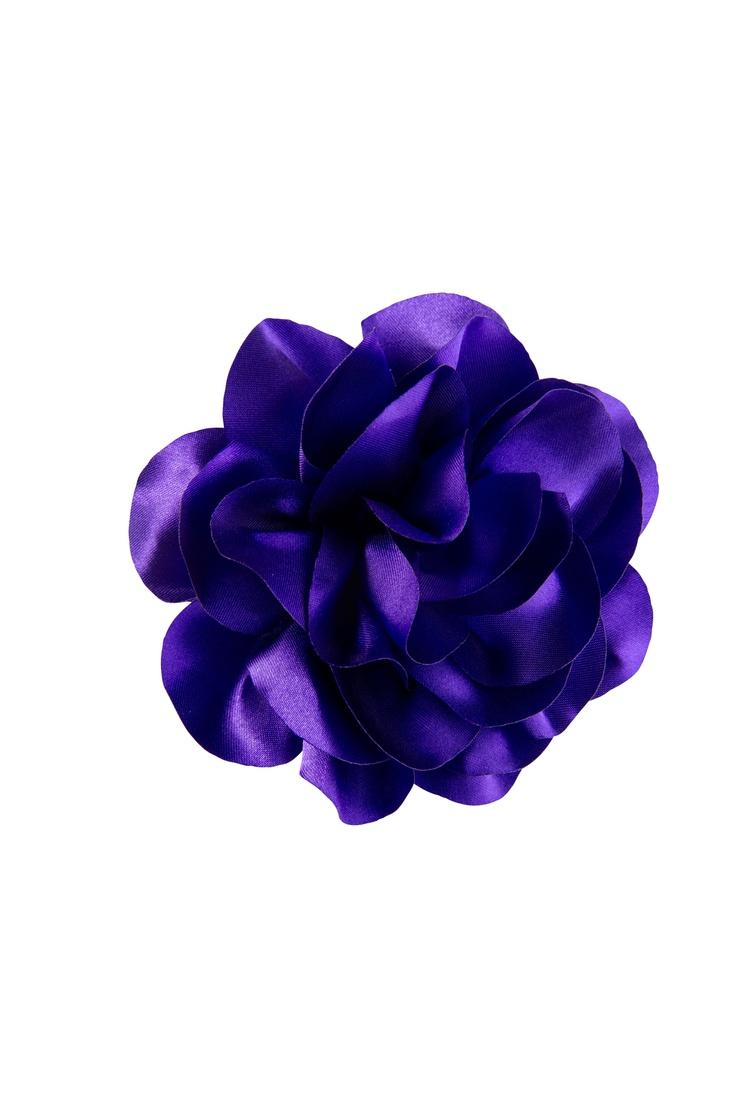 Hiuskoriste kukka lila - Cailap #hair #beauty