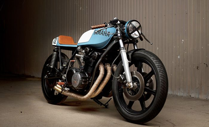 XS750 by Brady Young  #caferacer