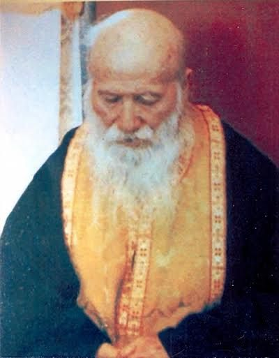 """Saint Porphyrios (Bairaktaris) the Kapsokalyvite was an Athonite hieromonk known for his gifts of spiritual discernment which he called """"spiritual television."""" He is quoted """"This is the way we should see Christ. He is our friend, our brother; He is whatever is good and beautiful. He is everything. Yet, He is still a friend and He shouts it out, """"You're my friends, don't you understand that?..."""