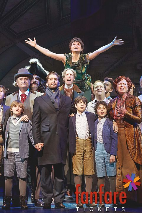 Finding Neverland tickets on sale now!