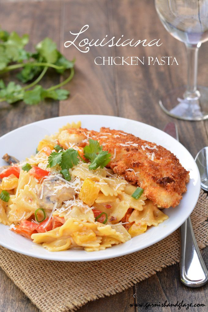 Bring restaurant food straight to your table at a fraction of the price with this Louisiana Chicken Pasta recipe! (copycat Cheesecake Factory recipe)