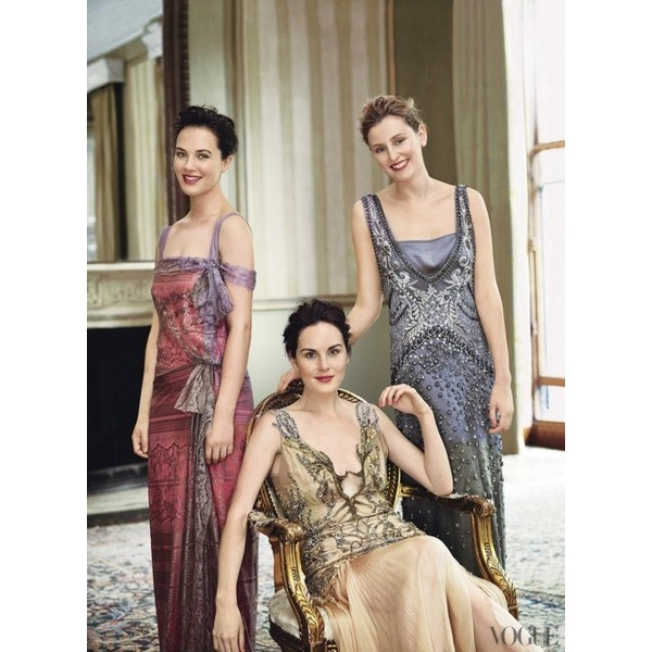 adore the Downton style, I really love the variety the costumers certainly