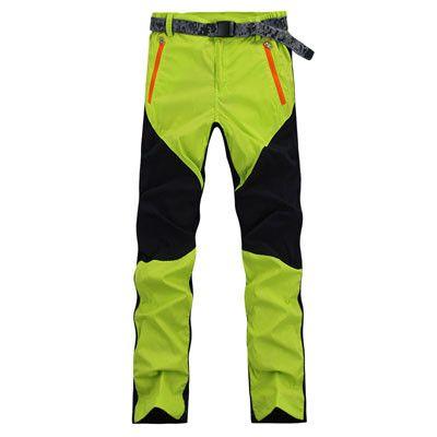 Women Spring Summer Quick Drying Pants Elastic Patchwork pantaloni trekking Outdoor Sports Hiking Cycling pantalones RM145