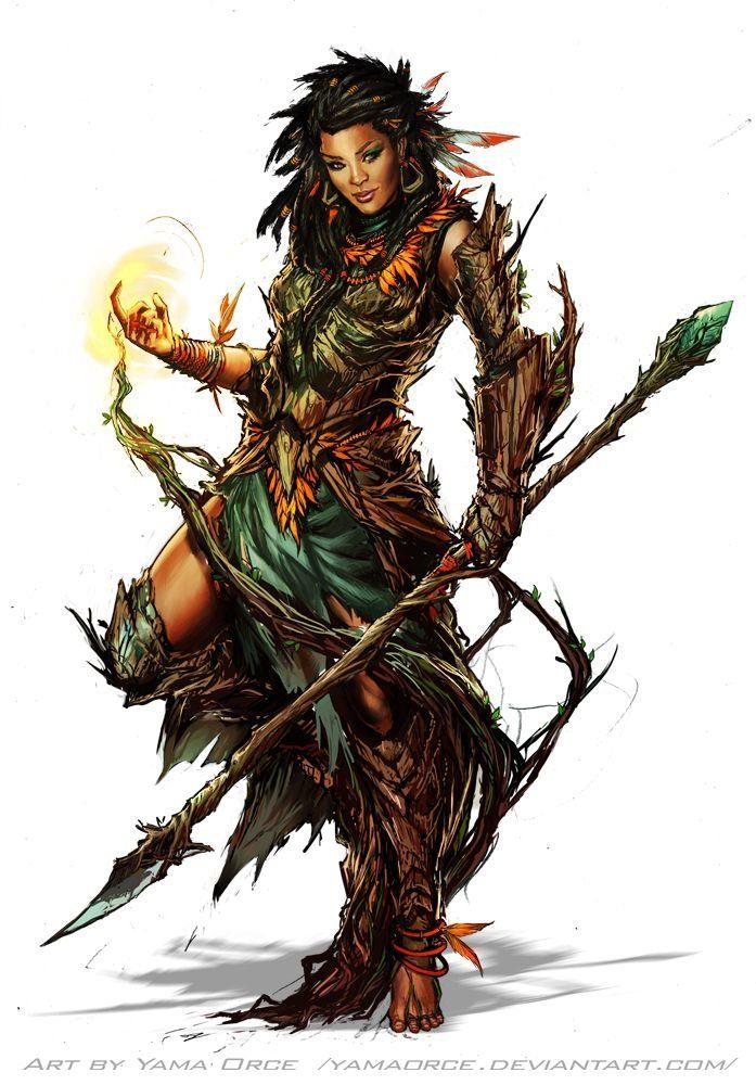 Character Art: Elves