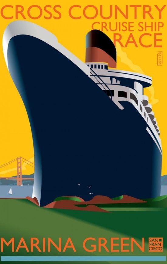 Cruise PosterCrui Posters, Heart, Cruises Ships, Crui Ships, Crosses, Beach Cruises Nautical Trop, Art Deco, Crui Line, Country